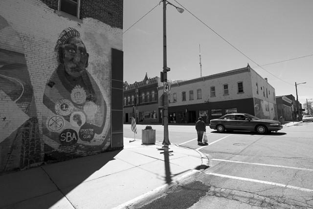 Blackhawk Mural